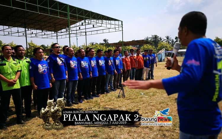 PELOPORI MEMBUKA LOMBA DENGAN LAGU INDONESIA RAYA