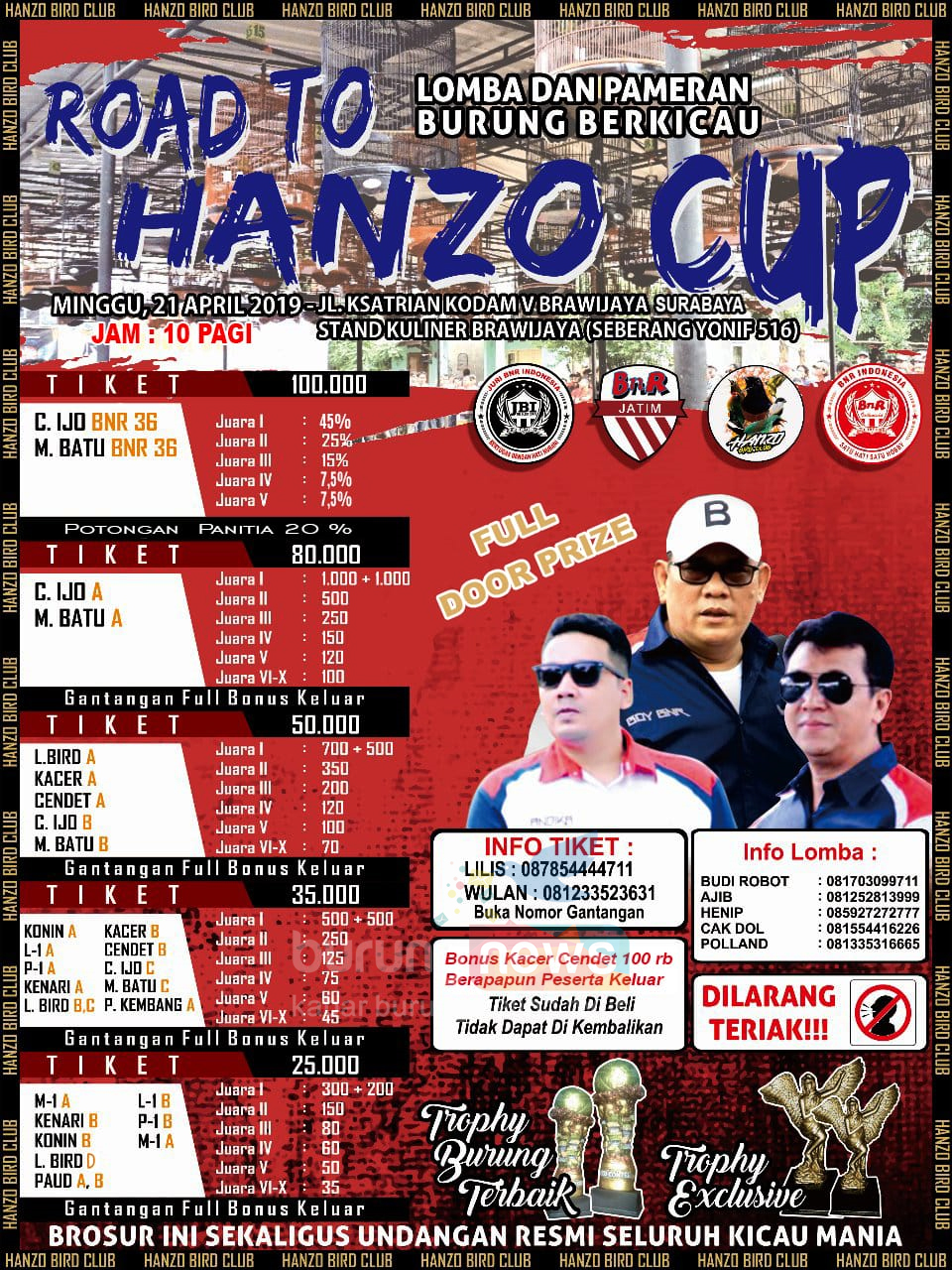 BROSUR ROAD TO HANZO CUP