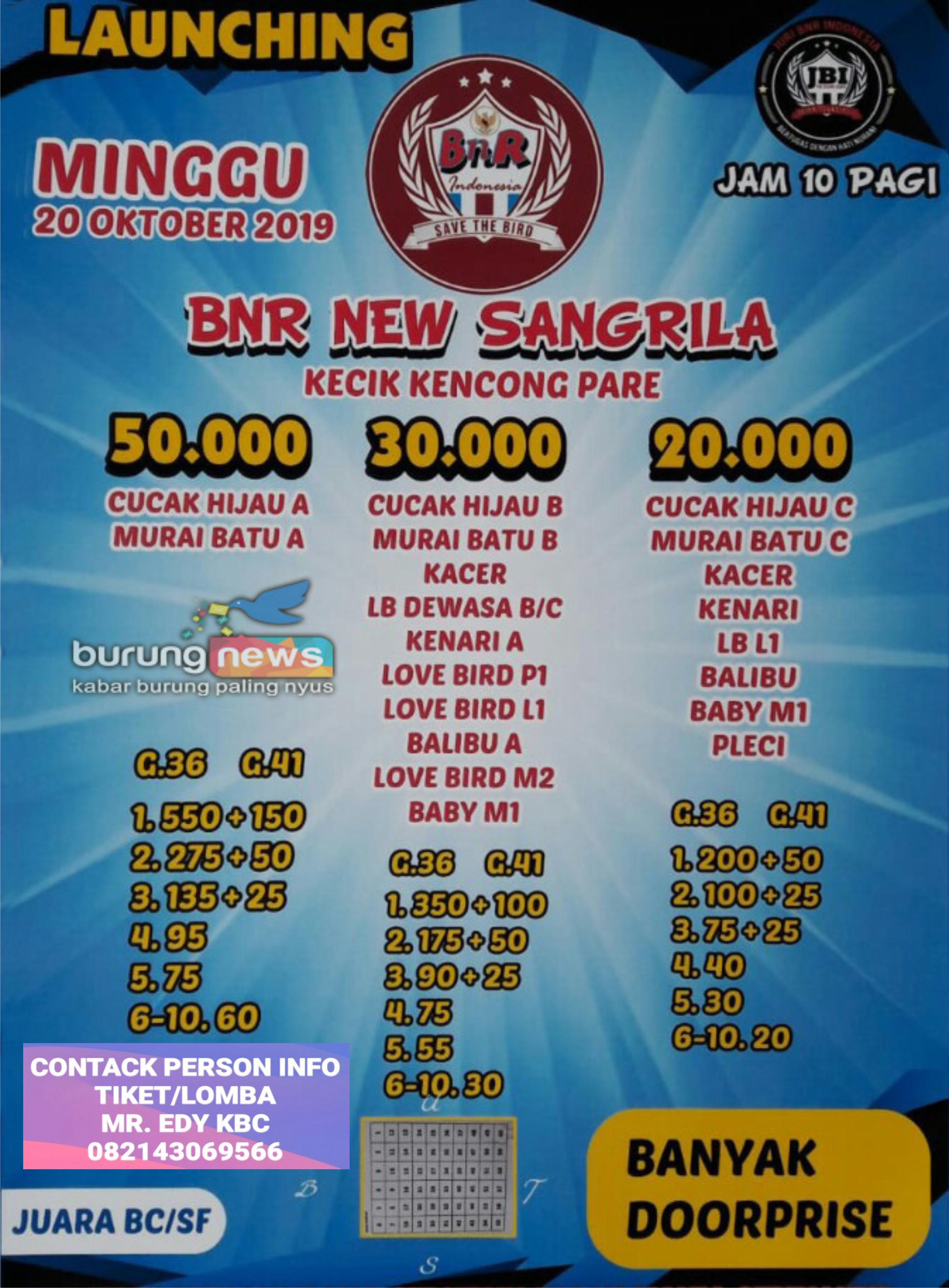 LAUNCHING BNR NEW SANGRILA, PARE KEDIRI