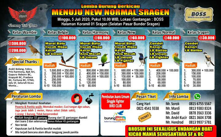 BROSUR MENUJU NEW NORMAL SRAGEN