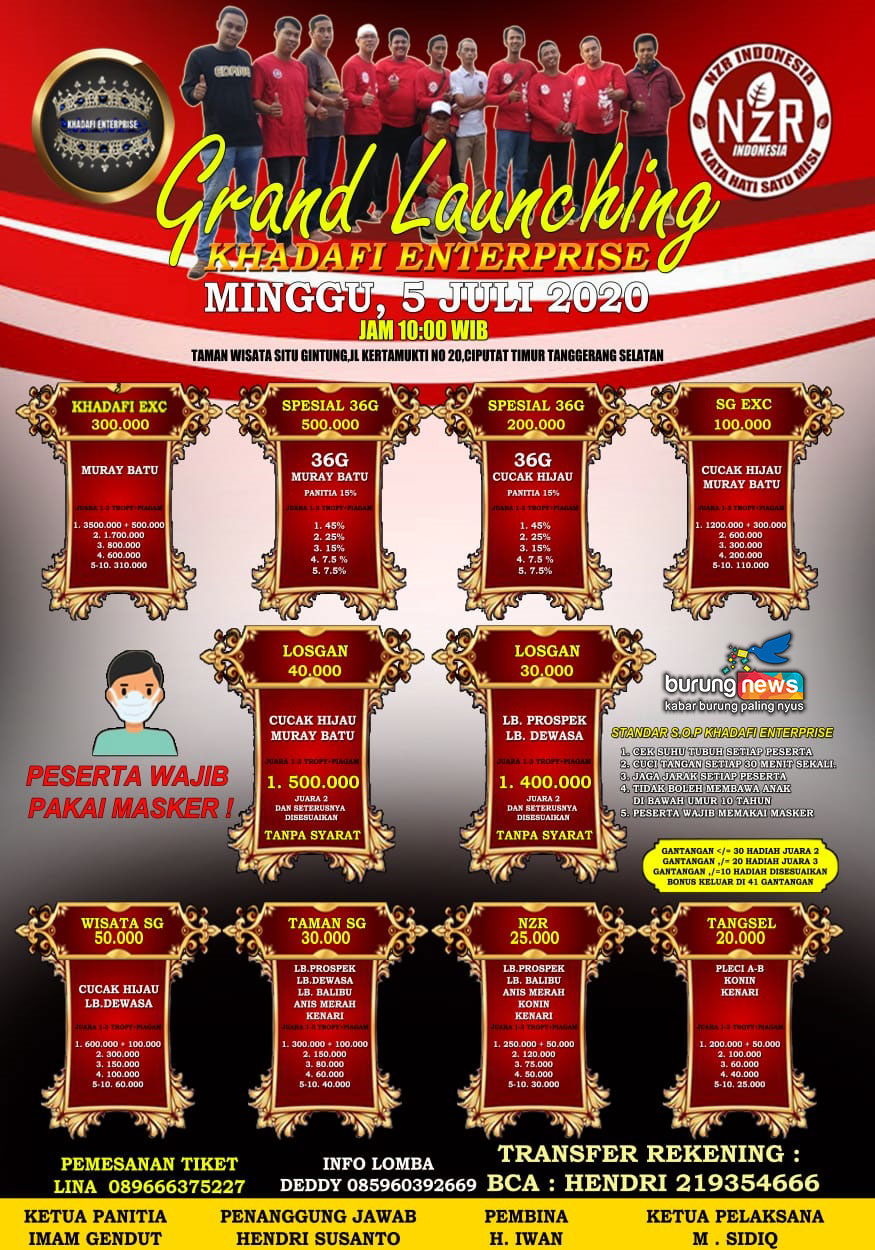 GRAND LAUNCHING KHADAFI ENTERPRISE