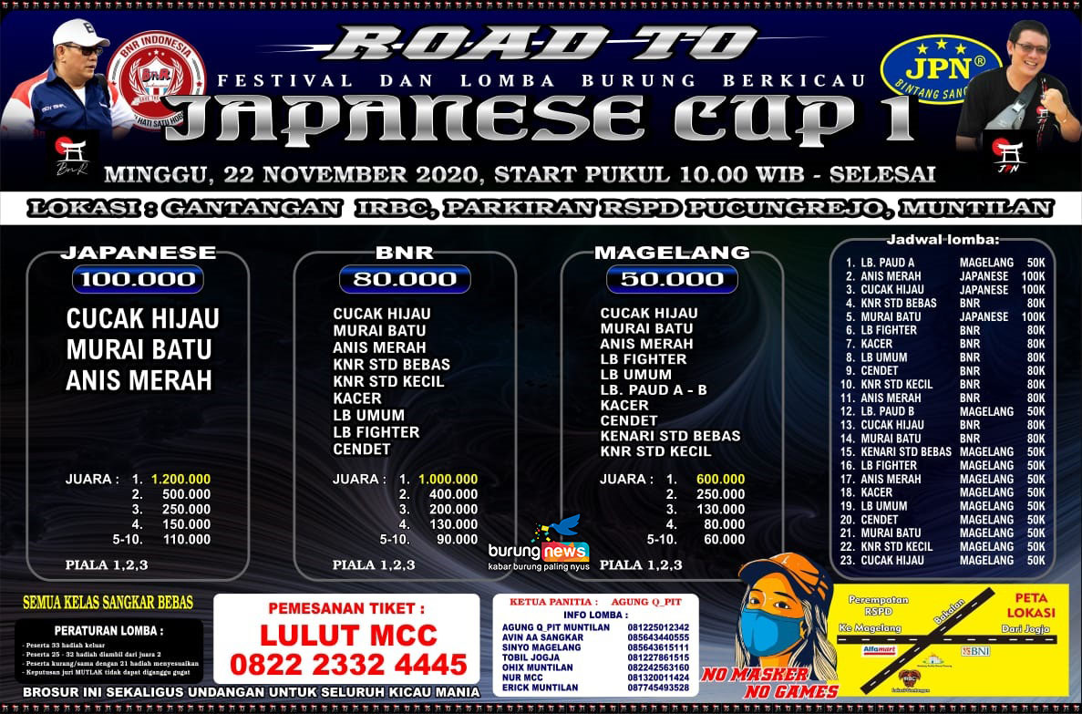 BROSUR ROAD TO JAPANESE CUP 1